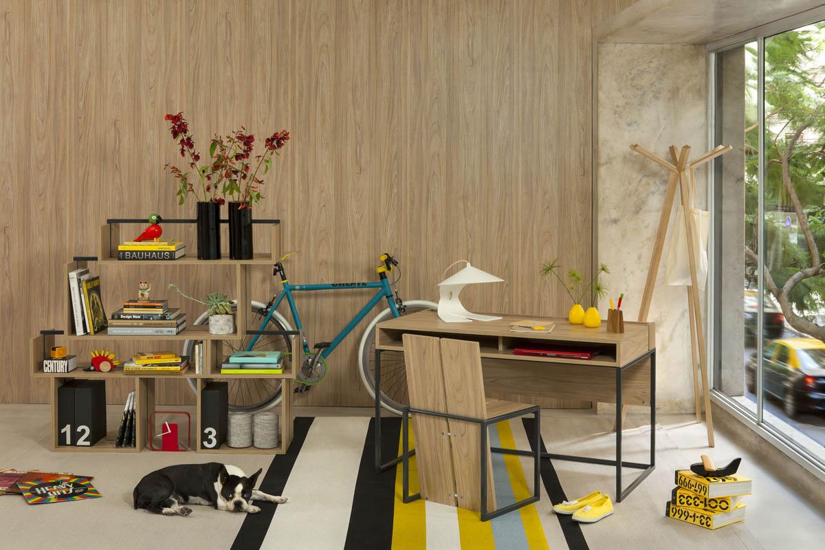 Hauspack la primera marca argentina de muebles listos for Muebles de diseno industrial