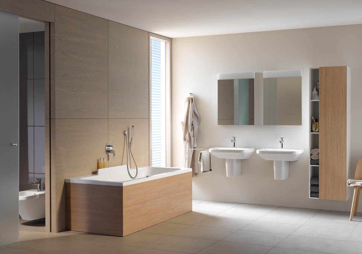 Baño En Tina Relajante:Tinas Duravit para mejorar las sensaciones de un baño relajante
