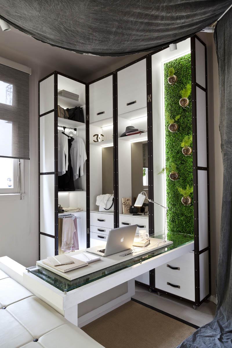 Monoambiente de una blogger de moda espacio 4 casa foa - Webs de decoracion ...