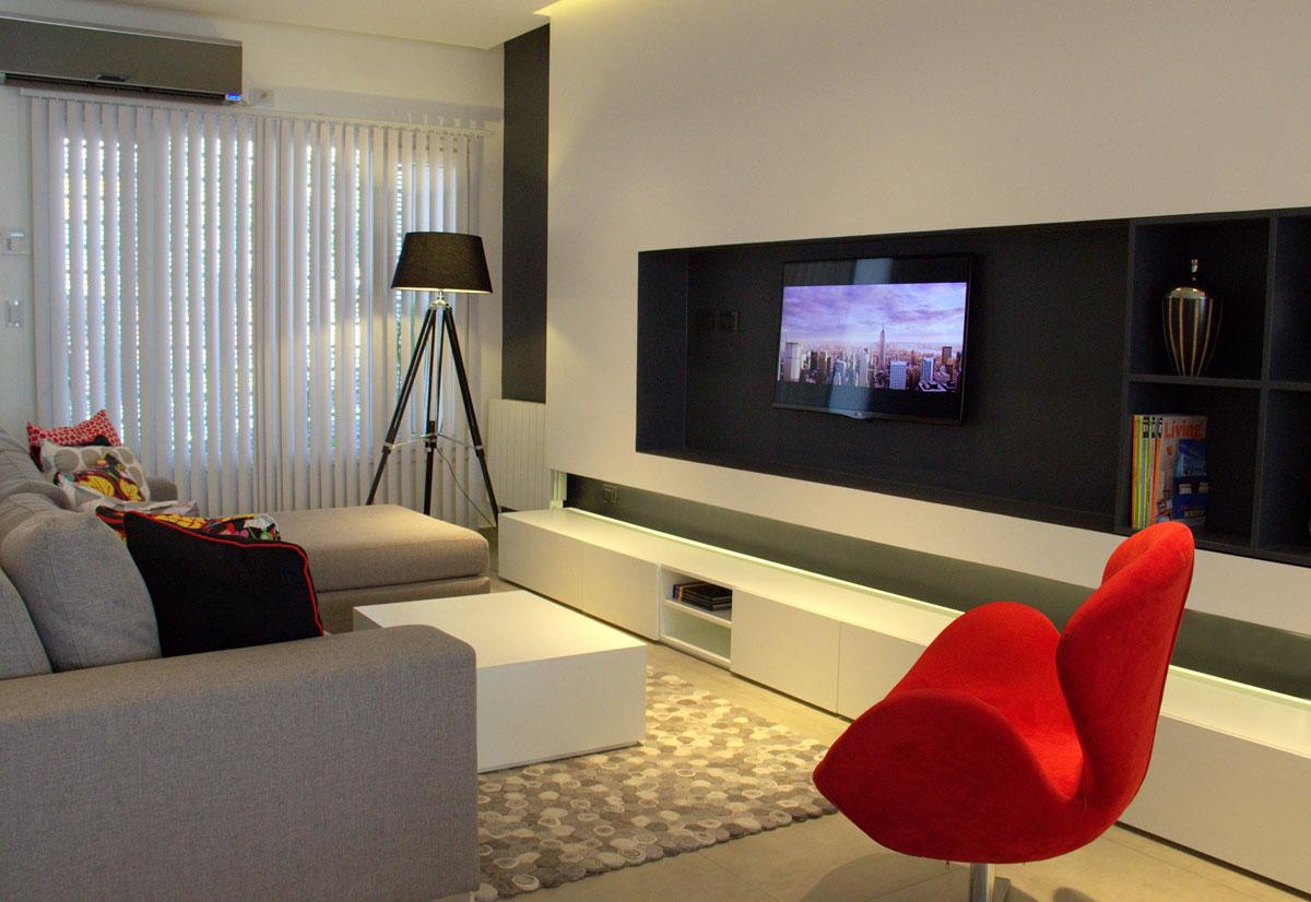 Reforma de ph zoom interiores arquimaster for Livings modernos 2016