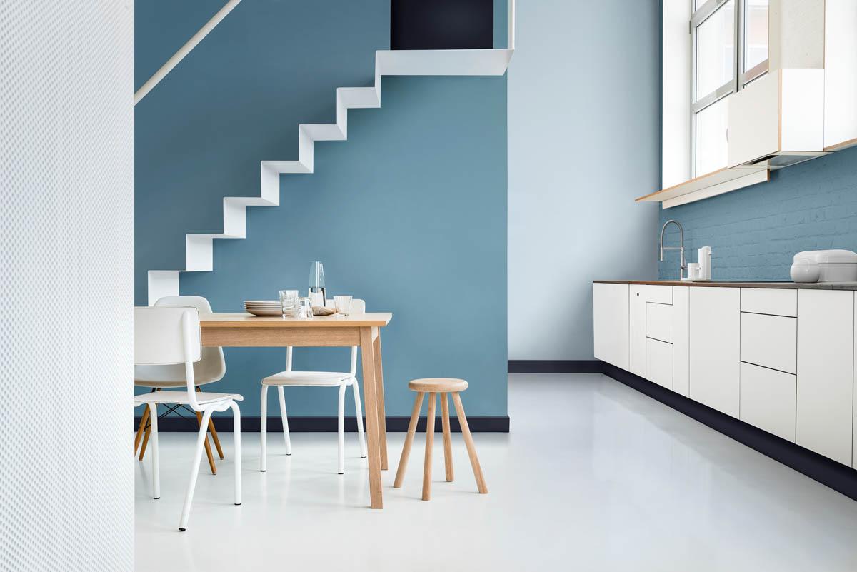 Alba presenta en casa foa las tendencias en color para el - Pintura paredes 2017 ...