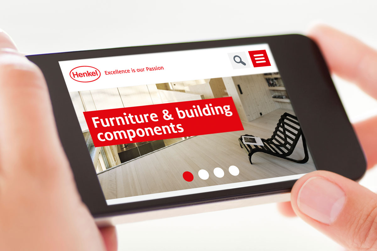 Henkel renueva su web de muebles y materiales de for Web de muebles
