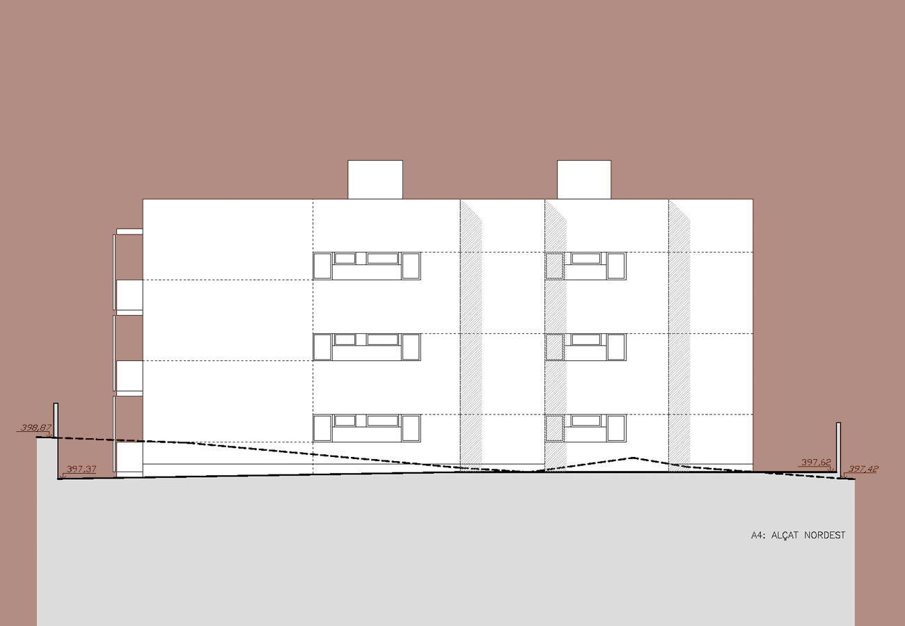 18 viviendas en begues jordi farrando arquimaster - Temperatura en begues ...
