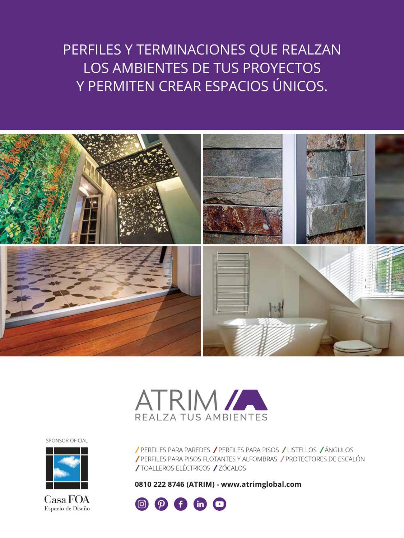 Atrim presente en arquitectura superficies e - Libros interiorismo ...