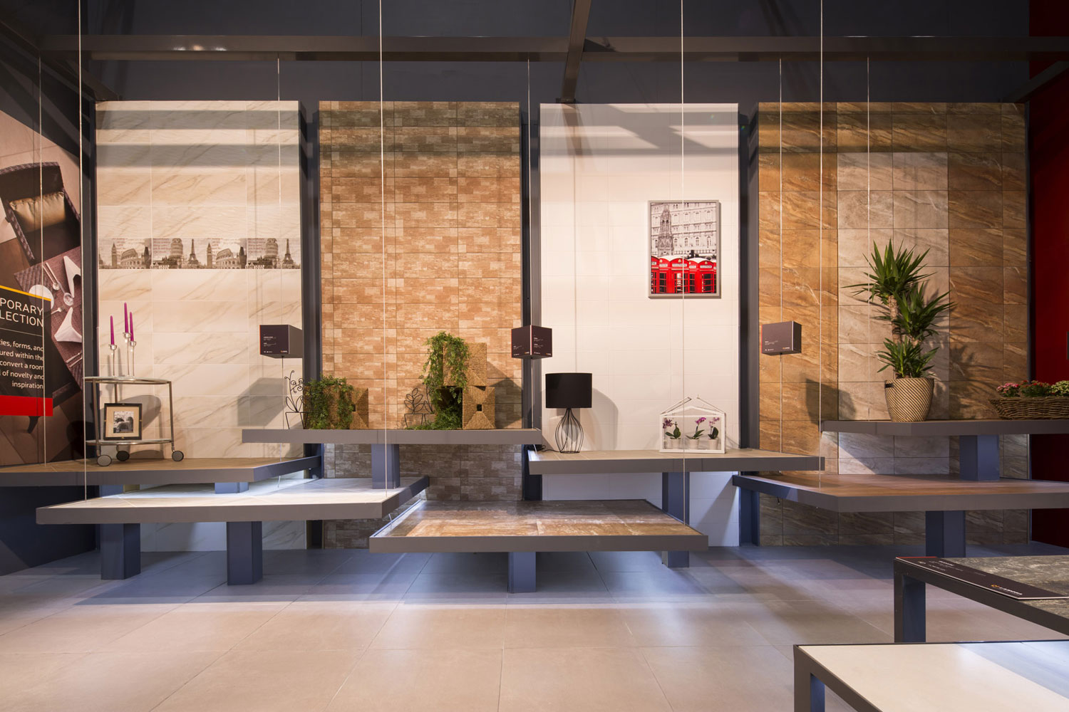 Stand porcelanite lamosa en coverings 2015 local 10 for Local arquitectura
