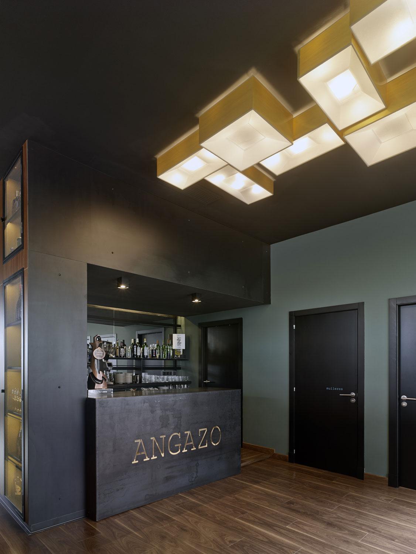 Restaurante angazo unouno arquitectura de interiores - Arquitectos de interiores ...