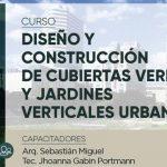 Curso Diseño en construcción de cubiertas verdes y jardines verticales urbanos