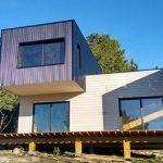 Casa bioclimática en Tandil realizada con el sistema entramado de madera
