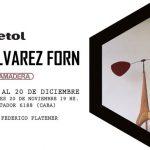 Hernán Álvarez Forn y sus esculturas libres, protagonistas de #PuraMadera5