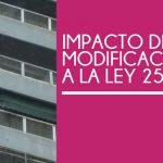 Curso Impacto de las Modificaciones a la Ley 257