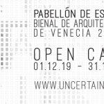 Convocatoria Pabellón de España Biennale di Venezia 2020