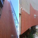 Las Viviendas Girasol del arquitecto José Antonio Coderch, rehabilitadas con el nuevo aplacado Flexbrick