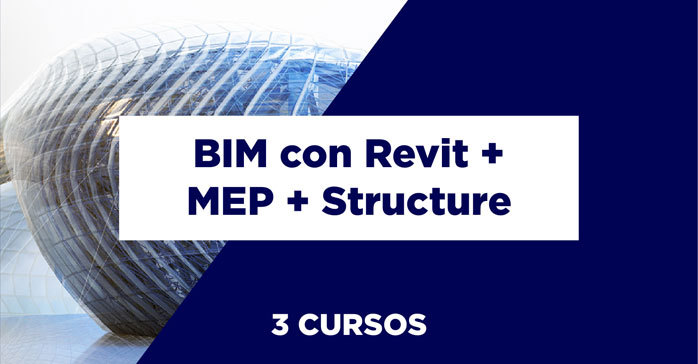 Curso de BIM Specialist con Revit Architecture + Structure + MEP