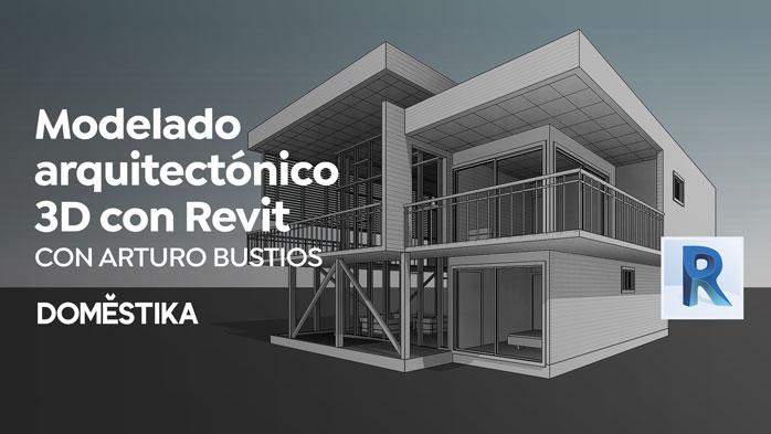 Modelado arquitectonico 3D con Revit