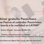 Webinar gratuito sobre la Casa Pasiva en Latinoamérica