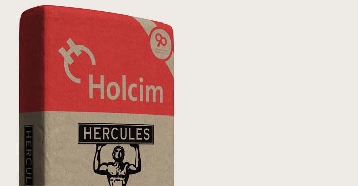 """Holcim celebra su 90º Aniversario con un packaging de edición limitada del legendario cemento """"Hércules"""""""