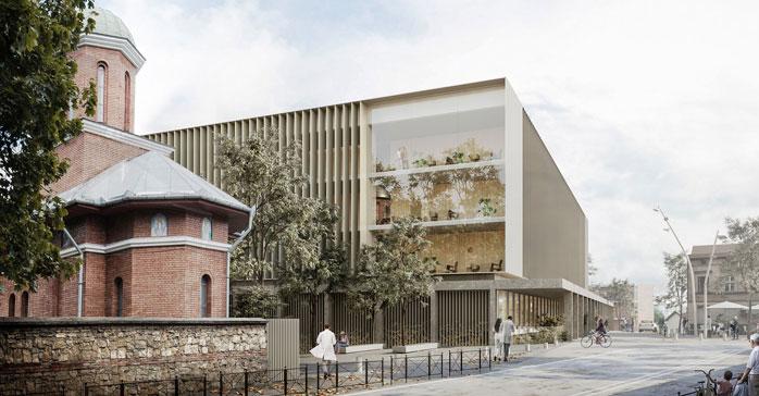 PINEARQ, despacho referente en arquitectura hospitalaria, Primer Premio del Concurso Internacional convocado para la construcción de un innovador Centro Integral de Transplantes en Rumania