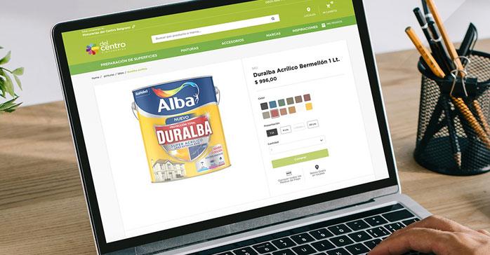Pinturerías del Centro lanza plataforma de venta online