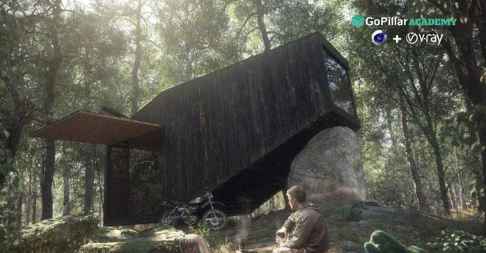 Descubre las claves del fotorrealismo para la arquitectura a través de Cinema 4D y V-Ray