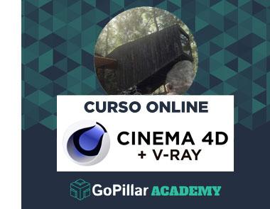 Curso de Modelado 3D con Cinema 4D + V-Ray
