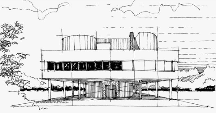 Curso Introducción al dibujo arquitectónico a mano alzada