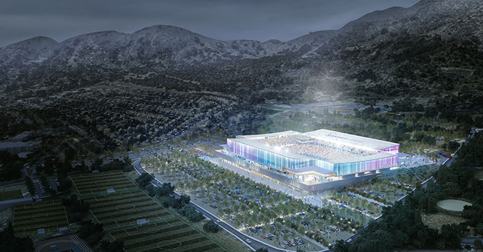 Proyecto de modernización del estadio chileno San Carlos de Apoquindo