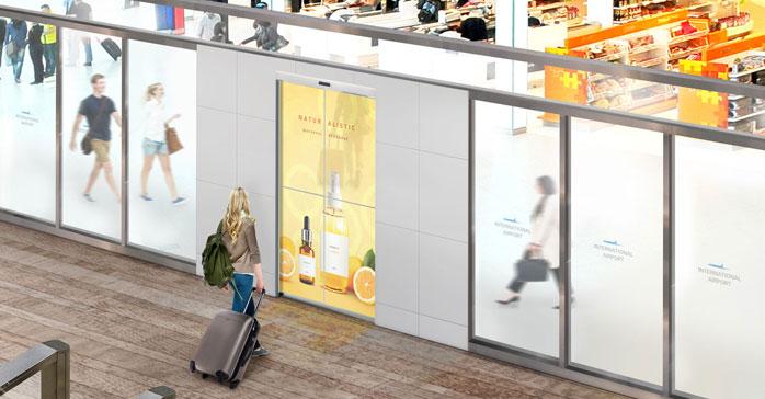 LG y ASSA desarrollan una puerta automática con LG OLED transparente