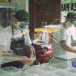 Blindex presente en la primera pizzeria de Donato de Santis en la ciudad de Buenos Aires