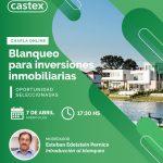 Charla online Blanqueo para inversiones inmobiliarias