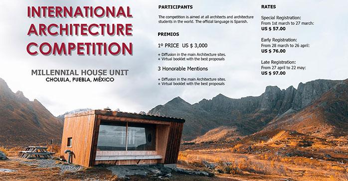 Concurso Internacional de Arquitectura Millennial House Unit