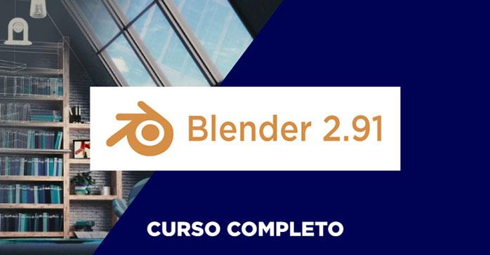 Curso completo de modelado 3D con Blender