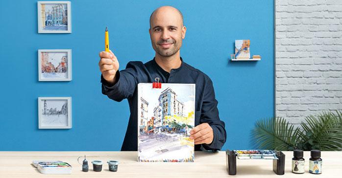 Curso Sketching arquitectónico para ilustraciones urbanas