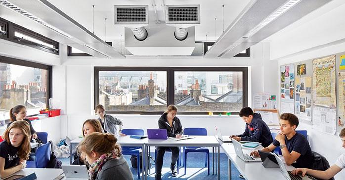 Cómo crear un entorno saludable en los centros escolares