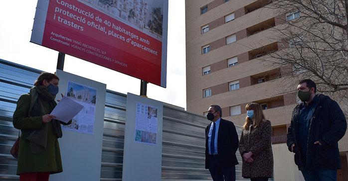 Se inician las obras de construcción de 40 viviendas públicas sostenibles y diseñadas con perspectiva de género en Sant Feliu de Llobregat