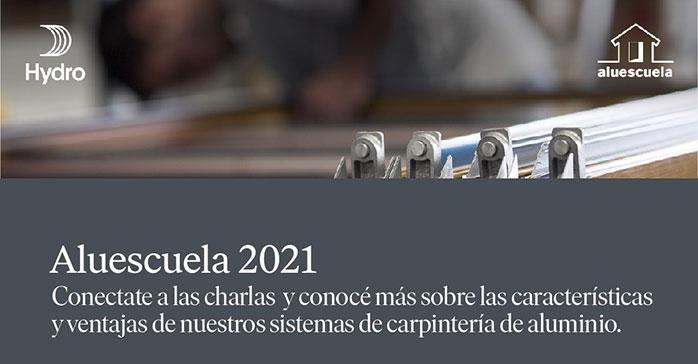 Comienza la Aluescuela 2021 con un programa imperdible