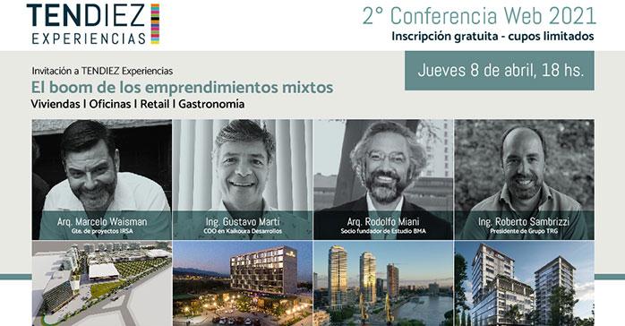 El 8 de abril TENDIEZ Experiencias aborda el boom de los emprendimientos mixtos