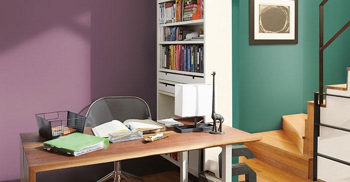 El uso del color como separador de ambientes