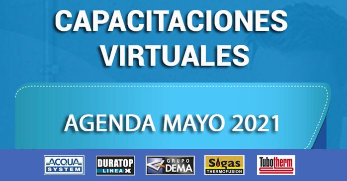 Capacitaciones virtuales de Grupo Dema (Sigas, Acqua System, Tubotherm y Duratop)