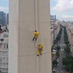 Sherwin-Williams participó de la restauración del Obelisco de Buenos Aires