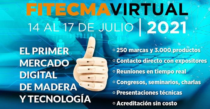 El Consejo Foresto Industrial Argentino convoca a participar de FITECMA Virtual