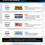 Capacitaciones virtuales de Grupo Dema agosto 2021 (Sigas, Tubotherm, Acqua System y Duratop)