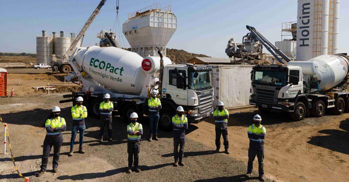 """Holcim presenta """"ECOPact"""" el primer hormigón sustentable"""